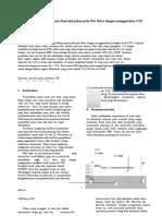 Analysis Perpindahan Panas Konveksi Paksa Pada Plat Datar Dengan Menggunakan CFD