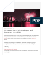 80 Laravel Tutorials, Packages, And Resources From 2016 - Laravel News