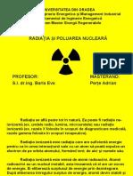 Radiatia Si Poluarea Nucleara