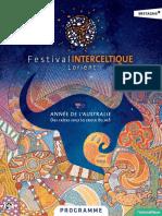 Programme FIL 2016