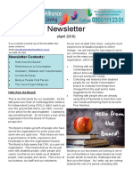 CAIL Newsletter - April 2016