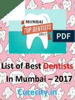 List of Best Dentists of Mumbai - Curecity