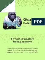 Guerilla Ability Testing