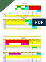 Orar Sem II 2013-2014 Pe Specializari Si Ani de Studiu 26.02.2014 de Afisat Pe Site