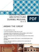 Indian Islamic Architecture during Mughal Rule