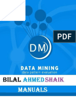 Bilal Ahmed Shaik Data Mining
