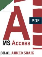Bilal Ahmed Shaik Ms Access