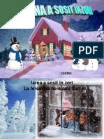Cantec- Iarna a Sosit in Zori