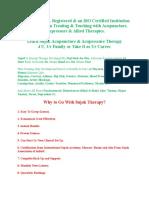 Learn Sujok Acupuncture