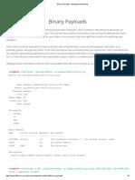 Binary Payloads - Metasploit Unleashed