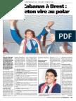 Roberto Cabanas le jour de son arrivée à Brest