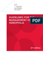 Guidelines of Mgt of Hemophilia 2012