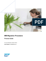 MM Migration Process Document