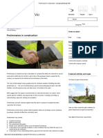 Preliminaries in Construction - Designing Buildings Wiki