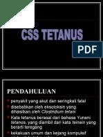 Css Tetanus