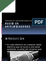 Rudio en Amplificadores