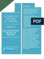 Declaracion consenso recuperacion