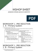 Workshop Sheet Advanced Plus Nlp