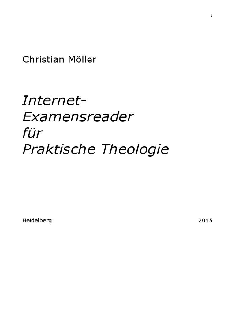 Ch. Möller - Bevezetés a Gyak. Teológiába (Német)