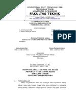 Proposal Petrokimia Gresik 2016