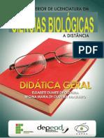 Didatica Geral - Livro Ciencias biologicas