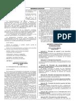 Decreto Legislativo de Migraciones