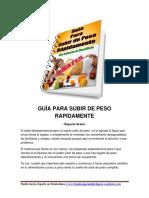 Guía GRATIS Para Subir de Peso PDF