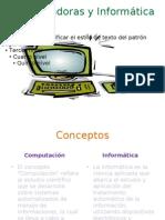Computadoras y Informática