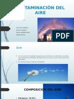 Trabajo Contaminacion Aire