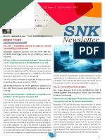 SNK Newsletter December 2016