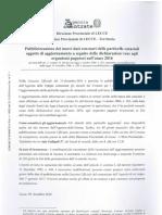 Documento -Elenchi Particelle Variazioni Culturali Anno 2016