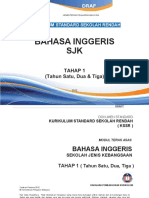 Dokumen Standard Bahasa Inggeris SJK Tahap 1