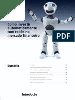 eBook Como Investir Automaticamente Com Robos No Mercado Financeiro
