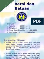 Mineral Dan Batuan IPBA