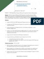 OHIO Replacement Program Milestone B Acquisition Decision Memorandum
