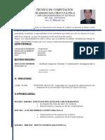 Curriculum Vitae LUIS ALBERTO H Ultio