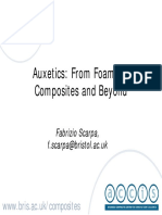 Auxetics From Foams to Composites and Beyond