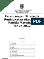 Perancangan Strategik Math 2017