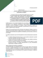 Boletín de Prensa Organismos Operadores de Agua 27032014