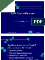 Audit Bancaire