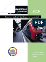 Fenomene Oscilatorii și Ondulatorii în Transporturi