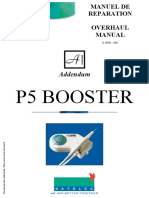 Satelec P-5 BOOSTER Addendum - Servicio