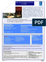 142 First Aid International Course Flyer