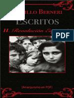 Berneri, Camillo - Escritos II (Revolución Española) [Anarquismo en PDF]