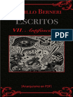 Berneri, Camillo - Escritos VII (Antifascismo) [Anarquismo en PDF]