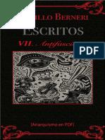 Berneri, Camillo - Escritos VII (Antifascismo) [Anarquismo en PDF]