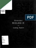 Elementare Melodik by Buscher