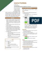 El Desierto Prohibido - Reglas en Espanol a La JcK