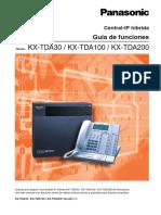 Guia de Funciones TDA30