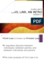 copy of lesson 4 1 - civil law an intro